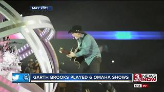 Garth Brooks adds shows to Lincoln stop in October - Video