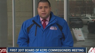 First 2017 Board of KCPD Commissioners meeting - Video