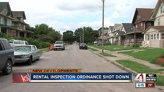 KCMO rental inspection ordinance shot down - Video