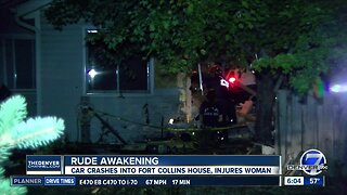Pickup truck crashes into Fort Collins home