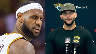 Jags QB Blake Bortles Just Compared Himself to LeBron James - Video