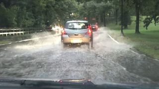 Flood and Tornado Warning Issued for Southern Minneapolis - Video