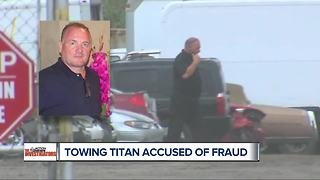 Towing titan accused of fraud - Video