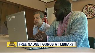Smartphone making your brain hurt? Libraries now offer free tech support - Video