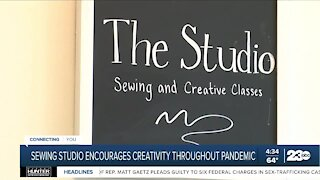 Sewing studio encourages creativity throughout pandemic