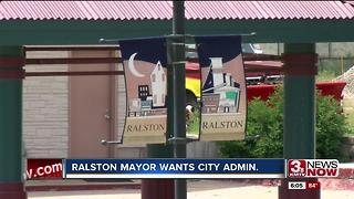 City of Ralston looking into city administrator - Video