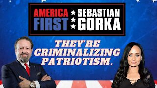 They're criminalizing patriotism. Katrina Pierson with Sebastian Gorka on AMERICA First