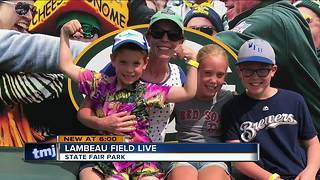 Lambeau Field Live travels to Wisconsin State Fair - Video