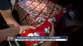 Family loses everything in a fire but gains hope for Christmas