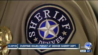 Denver Sheriff's Department overtime costing taxpayers millions - Video