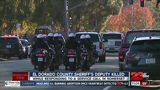 El Dorado County Sheriff's Deputy Killed