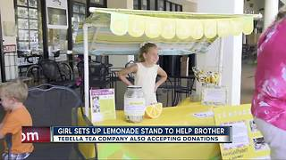 9-Year-old girl helps raise money for Tampa General Hospital with help of local business - Video