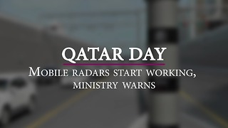 Mobile radars start working, ministry warns - Video