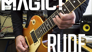 New electric guitar cover song of 'Rude' by MAGIC! - Video