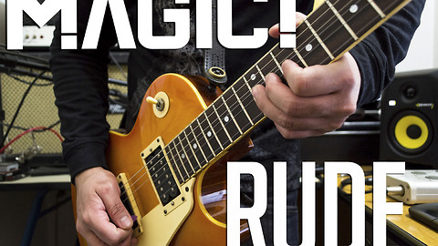 New electric guitar cover song of 'Rude' by MAGIC!