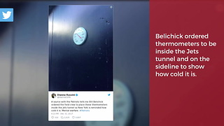 Bill Belichick Sparks Twitter Conspiracy Theories Before Sunday's Game - Video