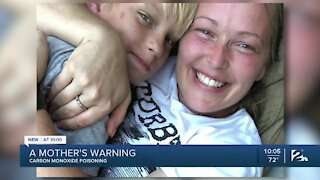 Mother warns of boating, carbon monoxide dangers after son's death
