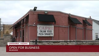 Local restaurants open for business