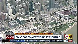 If The Banks breaks ground on concert venue this spring, outdoor music and tailgating here by 2019