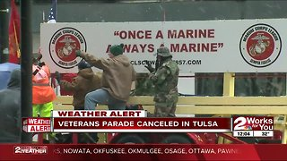 Tulsa Veterans Day Parade canceled for Monday, some still march on
