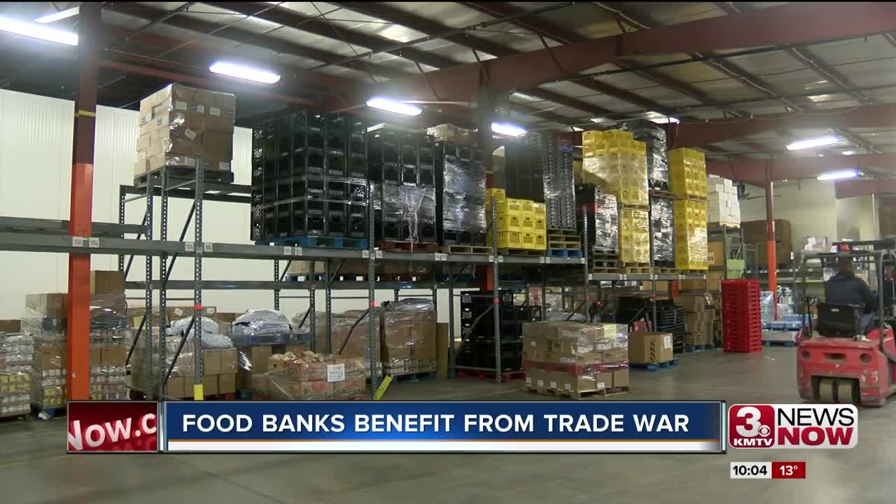 Food banks benefit from trade war with China