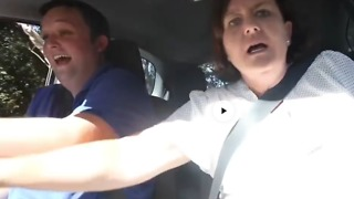 Son's Driving Doesn't Improve Despite Parents' Repeated Freak Outs - Video