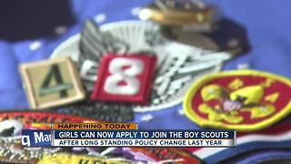 Girls can start joining Cub Scouts