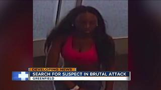 Police continue to search for suspect in brutal attack - Video
