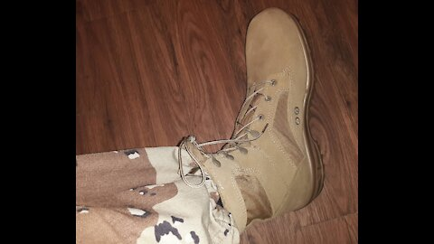 Bates TerraX3 Hot Weather Military Boot Review