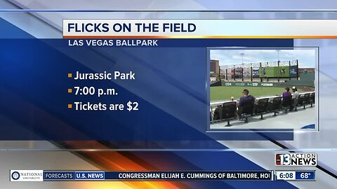 "Flicks on the Field ""Jurassic Park"""