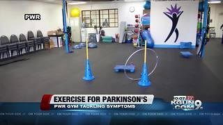 People with Parkinson's find community through exercise - Video