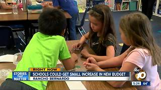 Schools could see small increase in new budget - Video