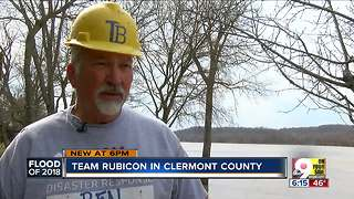 Veterans help with Clermont County flood cleanup - Video