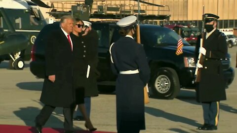 Trump's Last Day As The 45th President Of The United States!