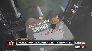 New legislation would ban smoking in local parks - Video
