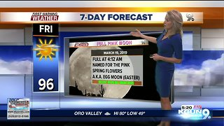 Clouds clear with a rapid warm-up coming!
