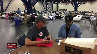 Local Red Cross workers return from helping Hurricane Harvey victims - Video
