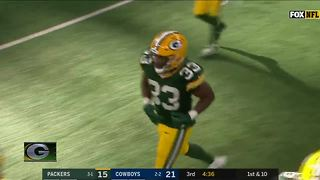 Report: Packers rookie running back Aaron Jones facing marijuana-related charge - Video
