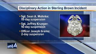Milwaukee Police Chief discusses discipline after Sterling Brown incident - Video
