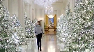 TITLE: The White House Reveals This Year's Christmas Decorations & They Might Just Make You Gasp - Video