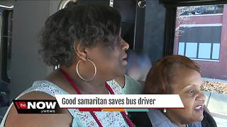 Good Samaritan saves Akron Metro bus driver and passengers - Video
