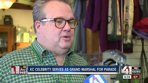 Stonestreet Grand Marshal of St. Patrick's Day Parade