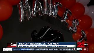 Second annual MANfest encourages men to talk about their health - Video