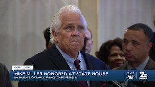 Mike Miller honored at State House