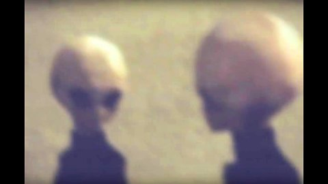 Authentic footage of Grey Aliens from crash site