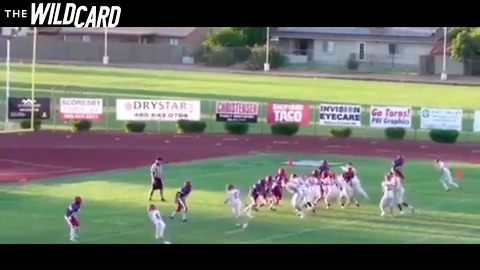 Blind Football Player Scores Two Touchdowns In The Same Game