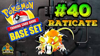 Pokemon Base Set #40 Raticate | Card Vault