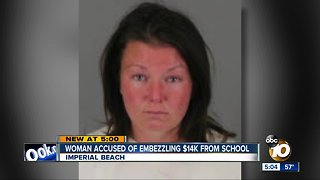 Former PTA president charged with embezzlement