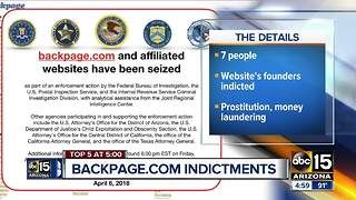 Backpage founders accused of promoting prostitution, laundering money - Video