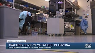 Tracking COVID-19 mutations in Arizona